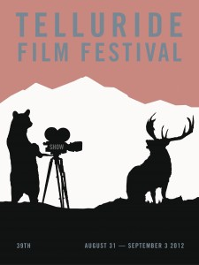 39th annual Telluride Film festival poster, by Dave Eggers