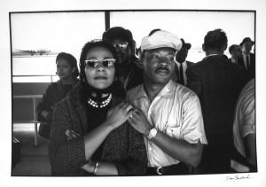 Martin Luther and Coretta Scott King, by Dan Budmik