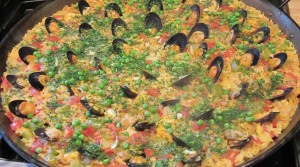 Picture perfect paella at The Village Table