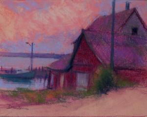 Wharf Study, Dawson
