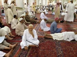 Preparing for prayer, Medina. L. de Bivort