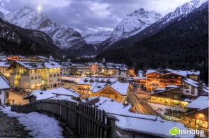 """Town of Mountain Village (as pictured in Huff Post article about """"Ten Coziest Mountain Towns"""""""