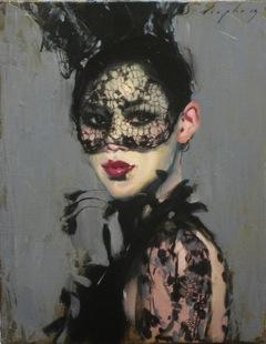 Liepke, Behind The Mask 11 x 14, Telluride Gallery of Fine Art