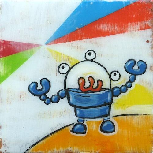 """""""Robot"""" by Johnny Botts"""
