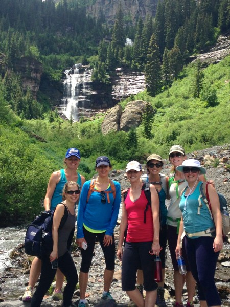 The ladies conquer The Bear (Creek)