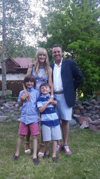 Kristin,Kevin, Brady & Leighton Holbrook