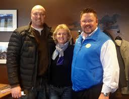 Tony Kalyk of the Telluride Conference Center, Denise Mongan, Robert Stenhammer, Telski