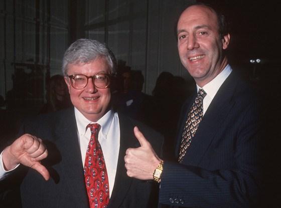 Roger Ebert & Gene Shallit, from Gary's article in EatDrinkFilms!