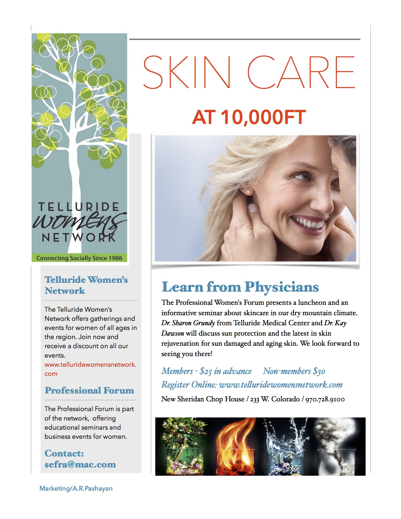 Skincare at 10,000 Feet: Drs  Grundy & Hamrick Featured | Telluride