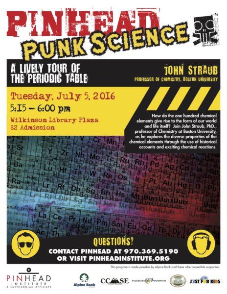 Ph 2016 Punk Science July 5 6 Telluride Letter Copy